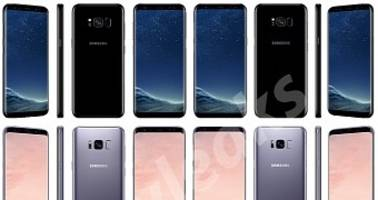 Samsung Galaxy S8 and S8+ Batteries Leaked in New Images