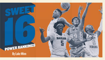 Sweet 16 Power Rankings: Who's most likely to win the national championship?