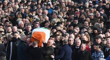 northern ireland traffic alerts: derry traffic and travel for martin mcguinness and ryan mcbride funerals