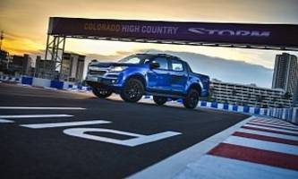 Chevrolet Thailand Unveils Colorado High Country Storm Pickup Truck