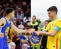 steph curry is my role model, says football legend gheorghe hagi's son ianis