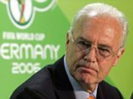 franz beckenbauer questioned over germany's world cup bid