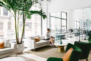 Inside the stunning new headquarters of a New York design startup that creates awesome spaces for tech companies and their execs
