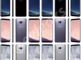 Photos of the Galaxy S8 have leaked that show the phone from every color and angle