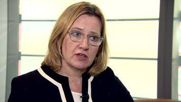London attack: Amber Rudd says don't point finger of blame at intelligence services