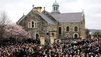martin mcguinness funeral: clinton urges 'finish his work'
