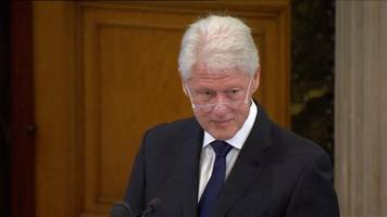 Bill Clinton: Finish the work that has been done