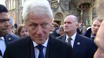 'making peace work is an endless process' says bill clinton