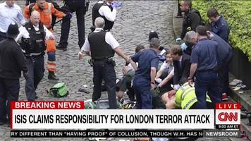 ISIS Claims Responsibility For London Car, Knife Attack