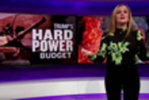 Video: Samantha Bee Has The Perfect Metaphor For Trump's Budget