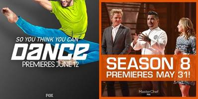 FOX Sets Summer Schedules for 'So You Think You Can Dance' Season 14, 'MasterChef' Season 8 and More