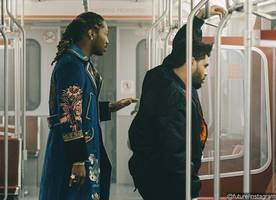 Future and The Weeknd Tease 'Comin Out Strong' Music Video Filmed in Subway Car