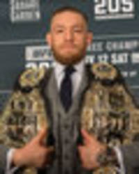 conor mcgregor news: nac reduce fine, white on mayweather fight, ferguson talks