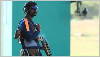 Ankur Mittal wins Gold medal in Men's Double Trap event at ISSF