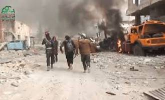 Syria: US-led coalition aircraft for 1st time carried out airlift of allied fighters battling IS