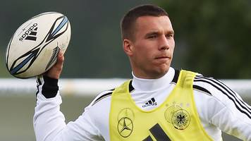 England's style used to be like rugby - Podolski