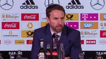 Germany 1-0 England: Gareth Southgate 'very pleased' with performance