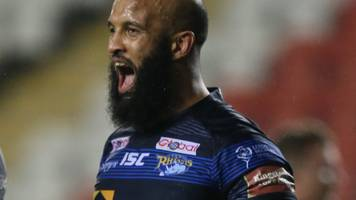 super league: huddersfield giants v leeds rhinos