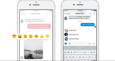 Facebook adds Mentions and Reactions to group chats on Messenger