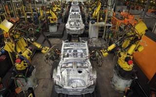 UK car production hit a 17-year high last month thanks to bumper exports