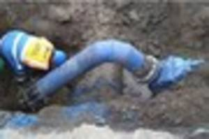 burst water main in derby - severn trent hope to have things...