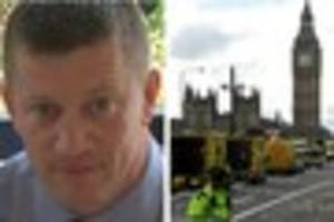 London terrorist attack - Derby MPs pay tribute to police officer...