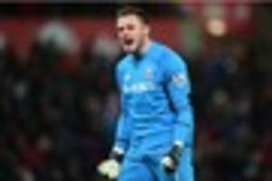 former derby county goalkeepers in competition for shirt at stoke...