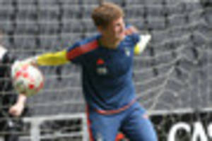 goalkeeper jordan wright leaves nottingham forest for alfreton...
