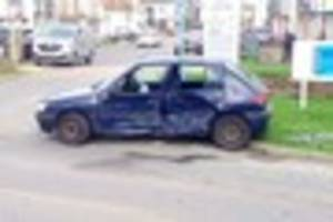 Uninsured driver who did runner from crash given caution by...