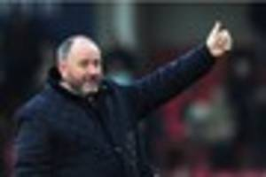 former yeovil town and bristol city manager gary johnson making a...