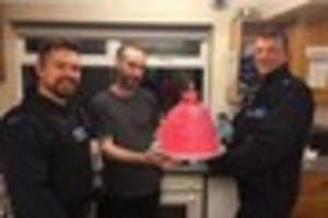 brentwood police donate cakes to charities following traveller...