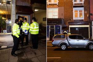 Armed police in overnight raid in Birmingham linked to London terror attack