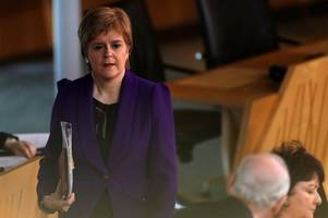 Nicola Sturgeon 'feels solidarity with London' after Westminster terror attacks