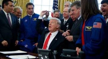 President Trump Wants Americans to Land Mars in 2030s, Signs $19.5B Bill To Fund It