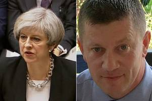 London terror attack: Theresa May tells MPs policeman who died was 'every inch a hero'
