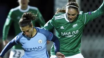 Women's Champions League quarter-final: Fortuna Hjorring 0-1 Manchester City Women