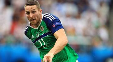 Northern Ireland's Conor Washington encouraged by Norway's depleted defence