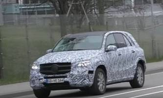 2019 mercedes-benz gle shows up in german traffic, gets closer to production