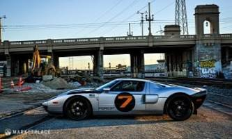 the 2005 ford gt designer's very own gt is for sale at $320,000  the 2005 ford g