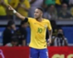 'neymar always makes the difference' - godin hails barcelona forward after star showing for brazil