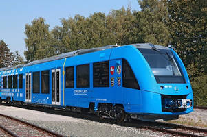 Hydrogen-powered train with zero emissions completes test run in Germany