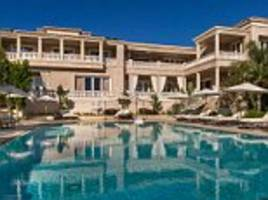 home designed by gigi hadid's father on market for $129m