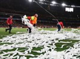 Arsenal and Bayern Munich fined over fans' behaviour