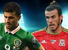 Ireland v Wales World Cup 2018 qualifiers LIVE score