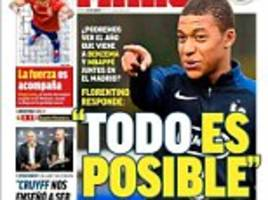 real madrid news: mbappe and benzema strike force planned