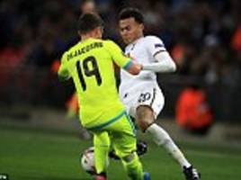 tottenham news: dele alli hit with three-match ban