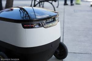 Tiny self-driving robots have started delivering food on-demand in Silicon Valley — take a look