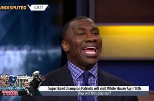 shannon sharpe looks ahead to tom brady's white house visit | undisputed