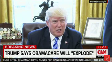 trump on what happens next: obamacare will explode