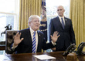 trump on ahca fail: 'the losers are nancy pelosi and chuck schumer'